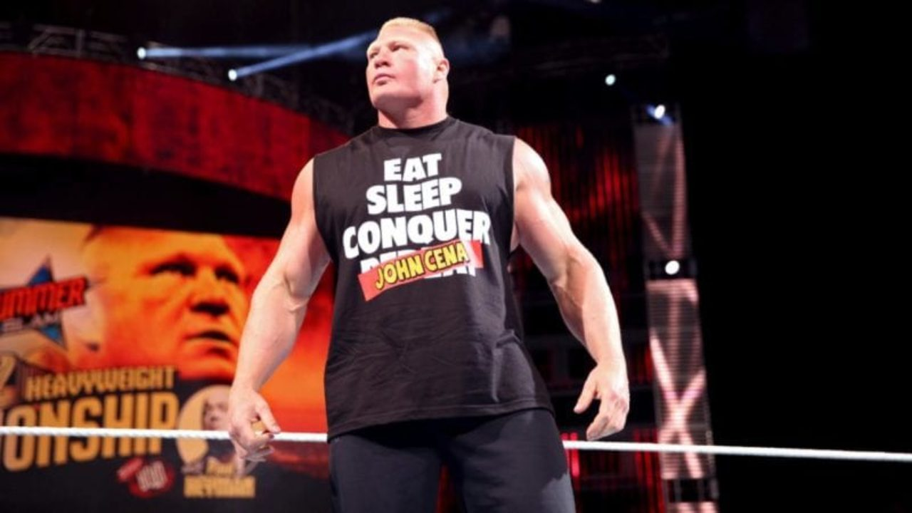 Brock Lesnar Reportedly Begins Talk With WWE For Summerslam 2021 2
